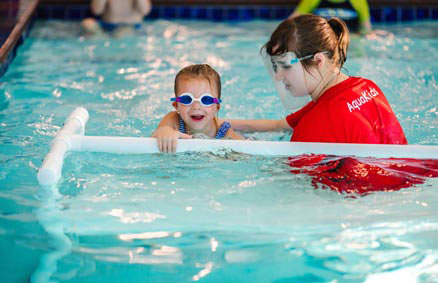 Baby Swim Lessons at McKinney, TX