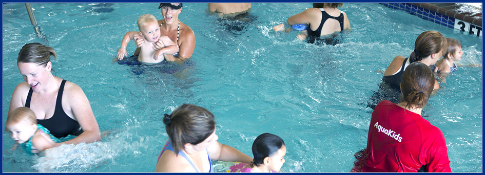 A group taking part in our swim lessons Keller, TX